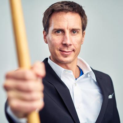 Arne Schneider Leiter vom Institut für Stabfechten